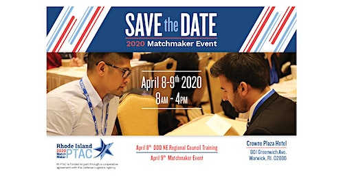 Rhode Island 2020 Matchmaker Event - Exhibitors and Resource Partners