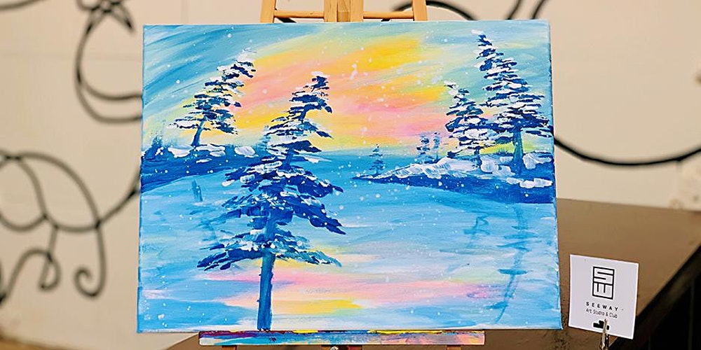 Things To Do Paint Sip Morning Glow Tickets Fri Jan 3