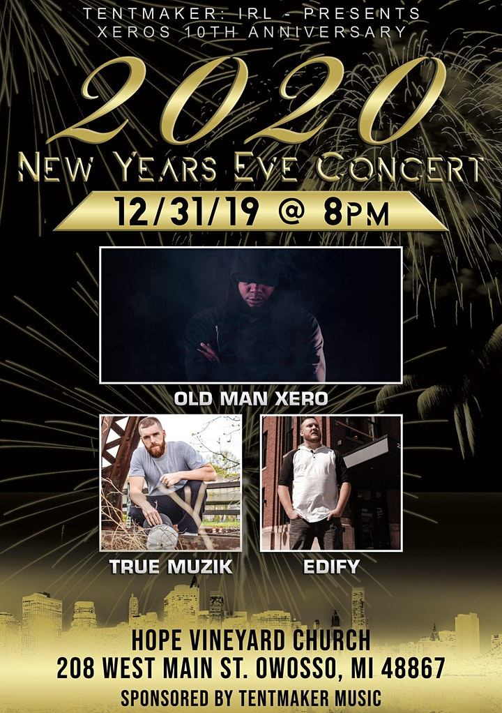 Tentmaker: IRL, New Year's Eve Show image