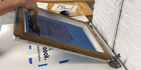 Intro to Screenprinting Two Day Workshop tickets