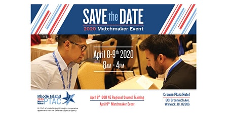Rhode Island 2020 Matchmaker - Prime Contractors & Federal/State Agencies tickets