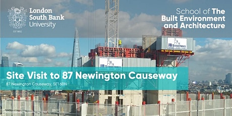 Site Visit to 87 Newington Causeway tickets