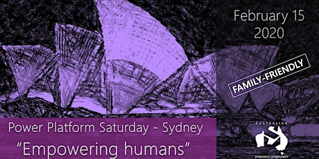 Power Platform Saturday Sydney 2020 tickets