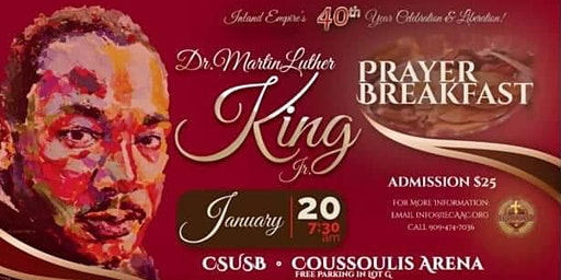 40th Annual IECAAC MLK Prayer Breakfast
