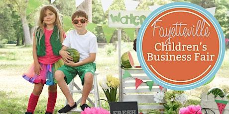 Fayetteville Children's Business Fair tickets