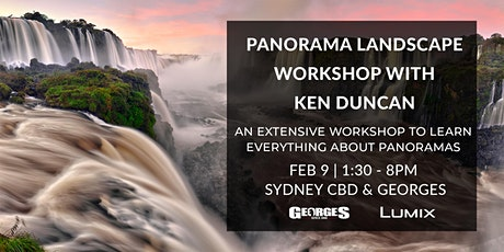 Panorama Landscape Workshop With Ken Duncan (Supported by Georges & Lumix) tickets