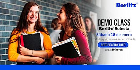 Certificación TOEFL:  ¡Obtén el puntaje deseado! tickets