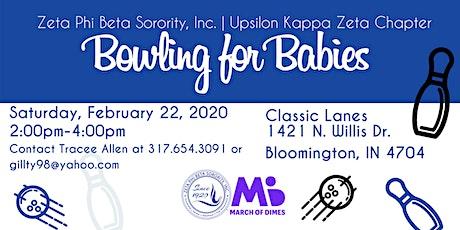 Zeta Phi Beta Sorority, Inc Upsilon Kappa Zeta Chapter Bowling For  Babies  tickets