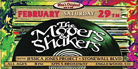 The Movers & Shakers w/ Jessica Jones Project + Stonewall BLVD tickets