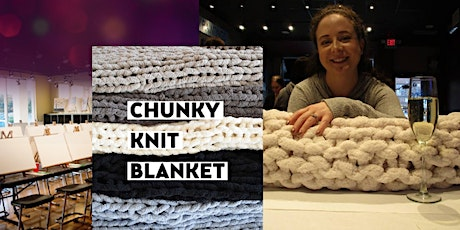 Chunky Knit Blanket . Perfect Valentin'es Gift! tickets
