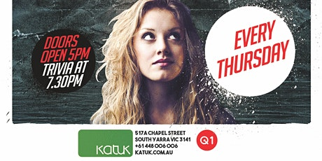 FREE TRIVIA - Every Thursday at Katuk! tickets
