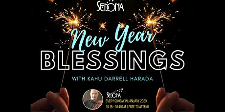 New Year Blessings with Darrell Harada tickets