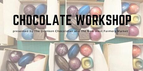 Valentines Chocolate Workshop with Drunken Chocolatier tickets