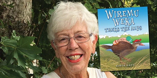 Book Launch: Wiremu Weka Treks the Alps by Kinsa Hays