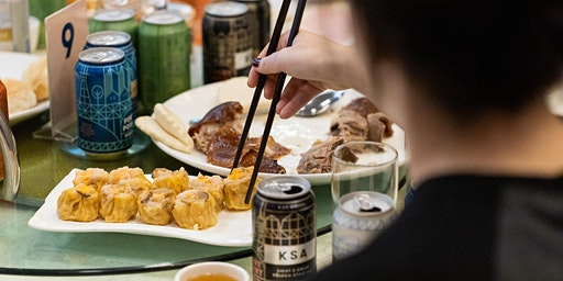 Dim Sum Beer Brunch with Fort Point Beer Co.