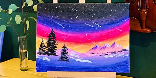 NIGHTLIFE-PAINT & SIP EVENT: NORTHERN LIGHT