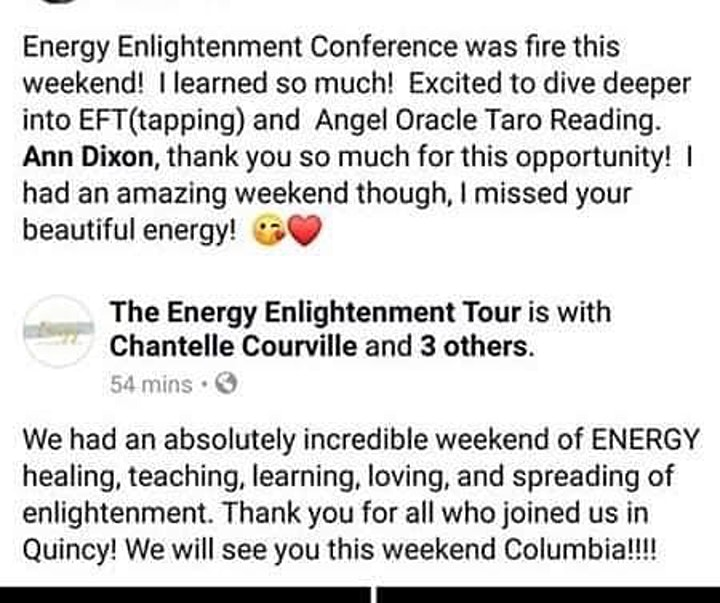 The Energy Enlightenment Tour image