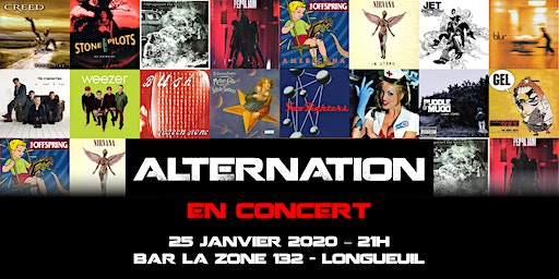 AlterNation Live À La Zone 132