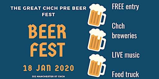 Great Chch Pre Beer Fest Beer Fest