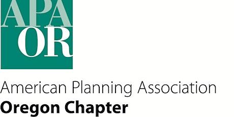 OAPA/DLCD Willamette Valley Planners Network Meeting tickets