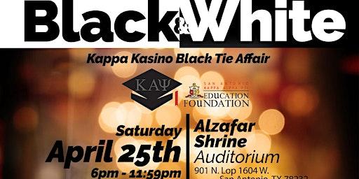SA Nupes Black and White Kappa Kasino Black Tie Affair