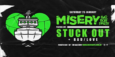 Misery: Emo Boat Party - February w/ Stuck Out & The Beautiful Monument tickets