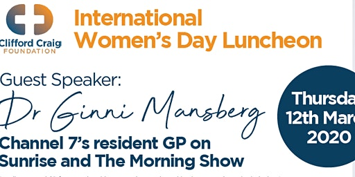 International Women's Day Luncheon 2020