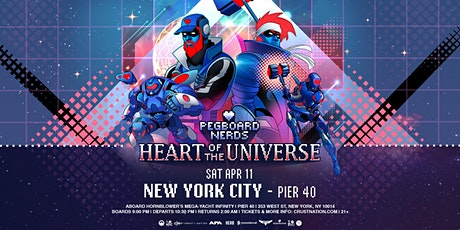 Pegboard Nerds - Heart of the Universe Part II Boat Party NYC tickets