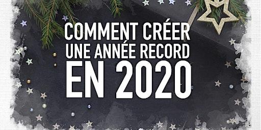 Comment Crée ton année record en 2020 (Bromont)