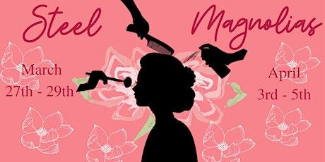 Baraboo Theatre Guild's Steel Magnolias Dinner Theatre(Sat. Mar 28) tickets