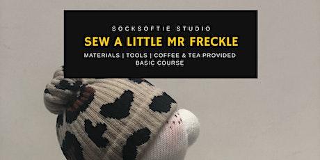 Sew a Socksoftie Little Mr Freckle  tickets