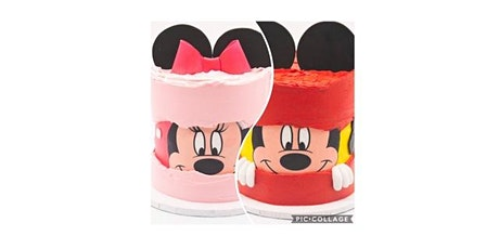 Minnie or Mickey Fault Line Cake Workshop tickets