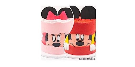 Minnie or Mickey Fault Line Cake Workshop