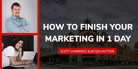 Finish Your Marketing in 1 Day tickets
