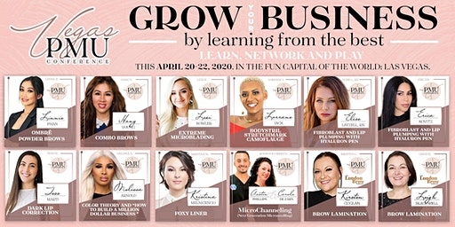 Las Vegas Microblading & PMU Master Conference - April 20-22, 2020