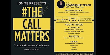 THE CALL MATTERS 2020 tickets