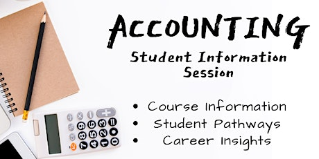 Accounting Student Information Session tickets