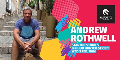 Startup Stories - Andrew Rothwell (Tyro Payments) tickets