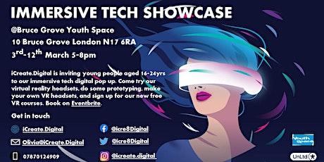 iCreate.Digital Virtual Reality Pop Up tickets