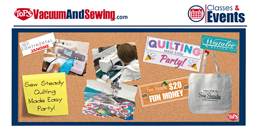 Sew Steady Quilting Made Easy Party | Palm Harbor, FL