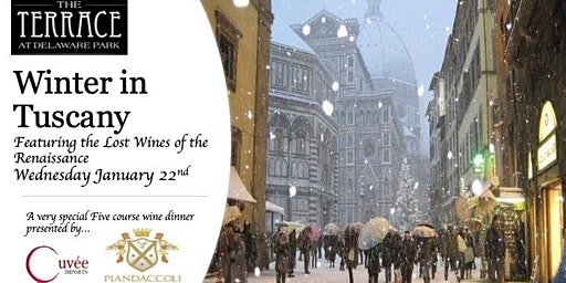 """Winter In Tuscany"" Wine Dinner at The Terrace with Cuvee Imports"