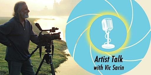 Artist Talk with Vic Sarin
