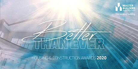 Mackay and Whitsunday Housing and Construction Awards 2020 tickets