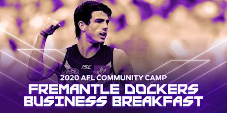 Fremantle Dockers Business Breakfast tickets