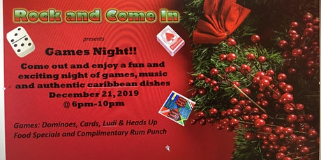 Games Night!! tickets