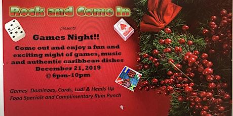 Games Night!! tickets