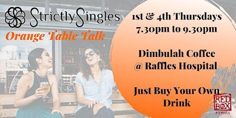 Orange Table Talk (OTT) tickets
