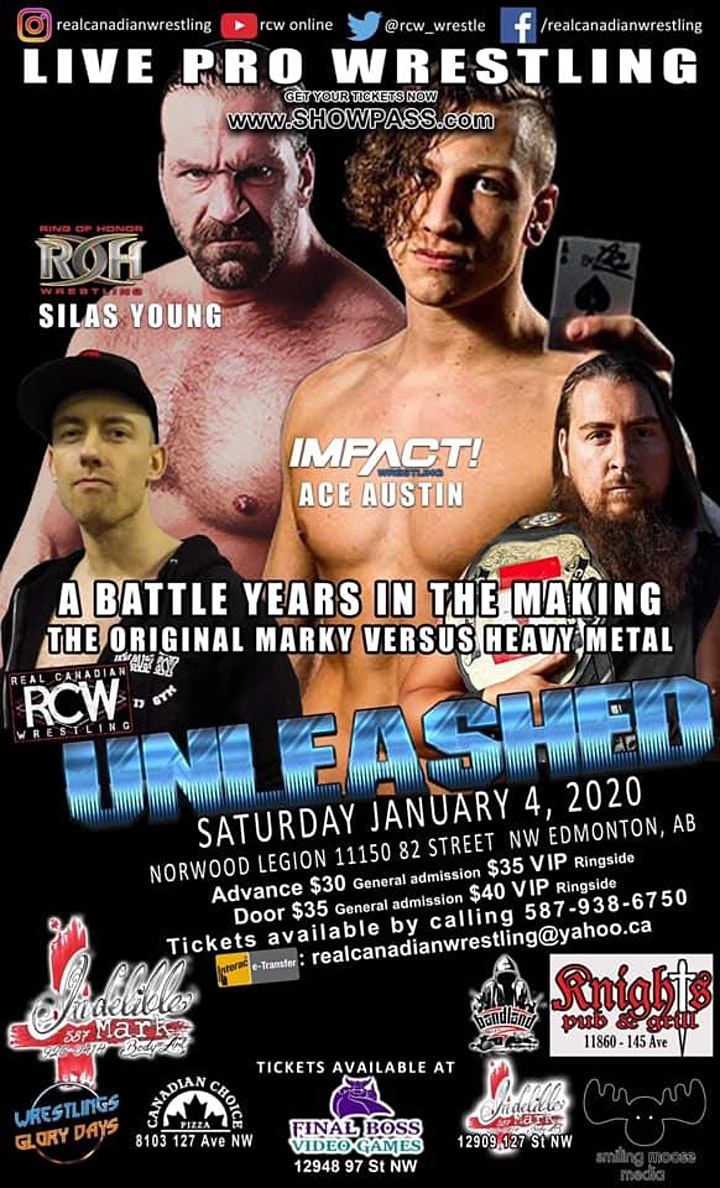 Real Canadian Wrestling - New Year's Unleashed image