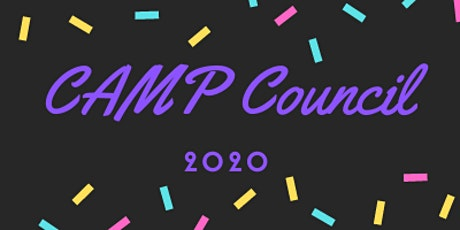 CAMP Council 2020 tickets