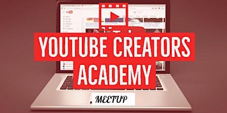 YouTube Creators Academy 2020 tickets